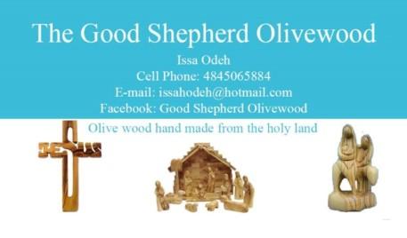 Good Shepherd Olivewood